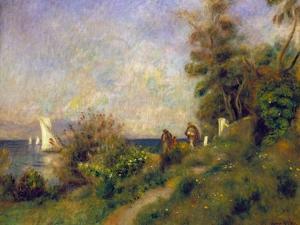 Renoir: Antibes, 1888 by Pierre-Auguste Renoir