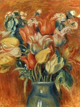Renoir: Bouquet Of Tulips by Pierre-Auguste Renoir