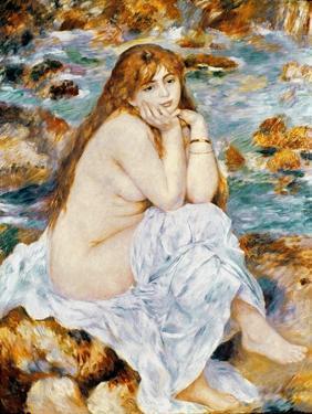 Renoir: Seated Bather, 1885 by Pierre-Auguste Renoir