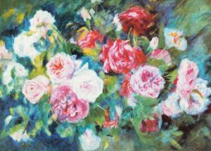 Roses, c.1885 by Pierre-Auguste Renoir