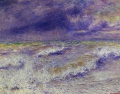 Seascape, 1879 by Pierre-Auguste Renoir