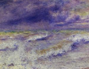 Seascape, 1879 by Pierre-Auguste Renoir