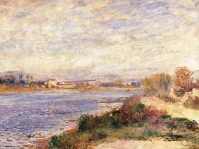 Seine at Argenteuil by Pierre-Auguste Renoir