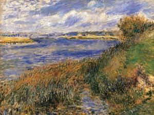 Seine at Champrosay by Pierre-Auguste Renoir