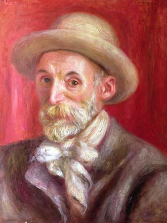 Self Portrait, 1910 by Pierre-Auguste Renoir