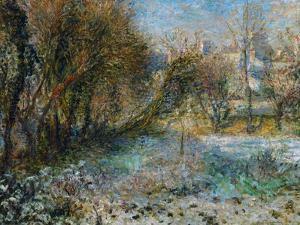 Snowy Landscape by Pierre-Auguste Renoir