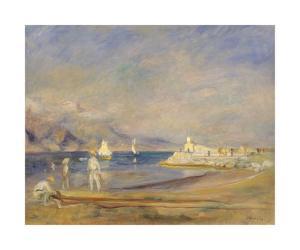 St Tropez, France by Pierre-Auguste Renoir