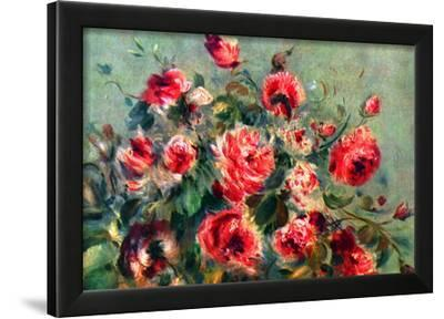 Pierre Auguste Renoir Still Life Roses of Vargemont Art Print Poster