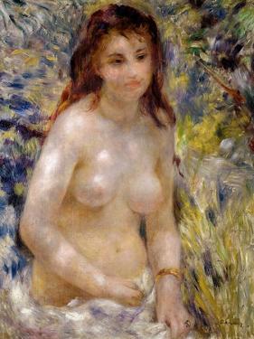 Study. Torso, Effect of Sunlight, circa 1875-76 by Pierre-Auguste Renoir