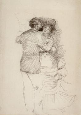 Pierre-Auguste Renoir (Sudy for Dance in the Country) Art Poster Print