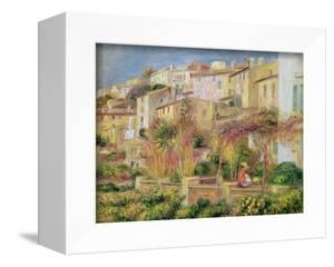 Terrace in Cagnes, 1905 by Pierre-Auguste Renoir