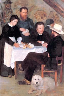 The Cabaret of Mm Antony by Pierre-Auguste Renoir