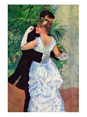 The Dance In The City by Pierre-Auguste Renoir