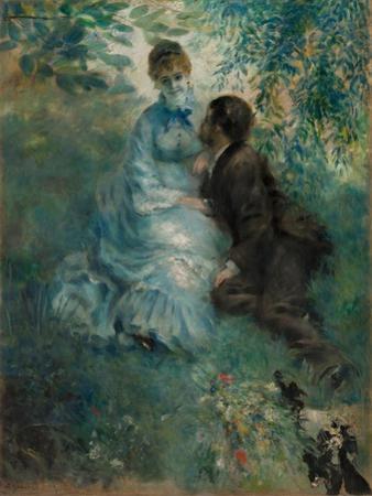 The Lovers, 1875 by Pierre Auguste Renoir