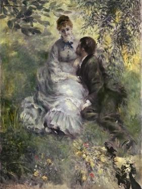 The Lovers by Pierre-Auguste Renoir
