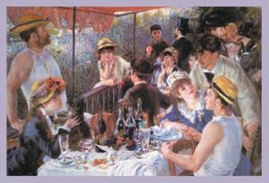 The Luncheon of the Boating Party by Pierre-Auguste Renoir