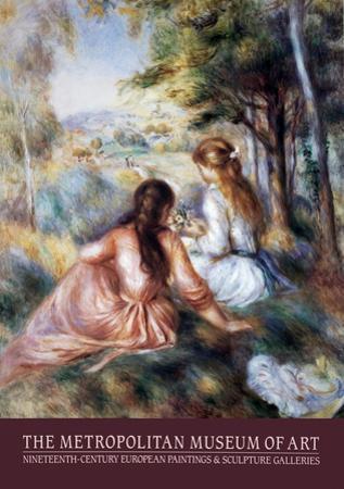 The Meadow by Pierre-Auguste Renoir