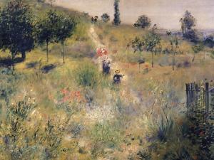 The Path Through the Long Grass, circa 1875 by Pierre-Auguste Renoir