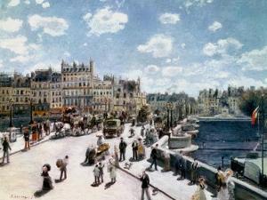 The Pont Neuf, Paris by Pierre-Auguste Renoir