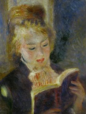 The Reader (La Liseuse), 1874-1876 by Pierre-Auguste Renoir