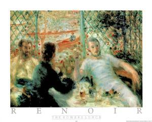 The Rowers Lunch by Pierre-Auguste Renoir
