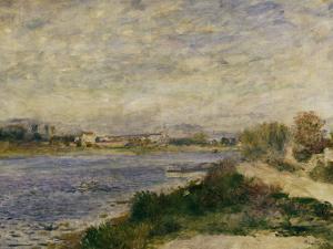 The Seine at Argenteuil, c.1873 by Pierre-Auguste Renoir