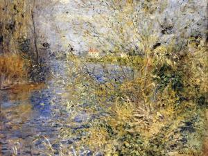 The Seine by Argenteuil by Pierre-Auguste Renoir
