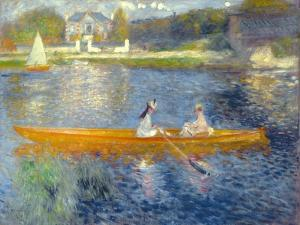 The Skiff (La Yole), 1875 by Pierre-Auguste Renoir