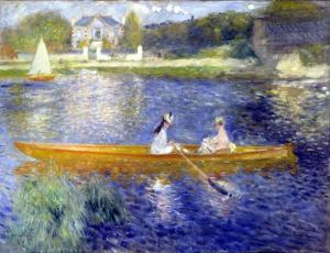 The Skiff (La Yole) by Pierre-Auguste Renoir