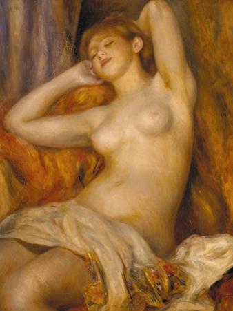 The Sleeper, 1897 by Pierre-Auguste Renoir