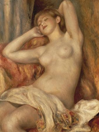 The Sleeping Bather by Pierre-Auguste Renoir