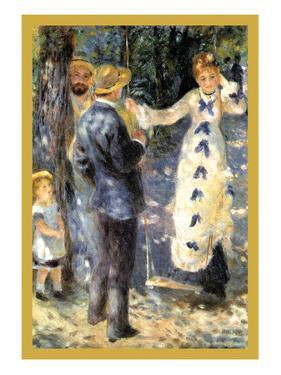 The Swing by Pierre-Auguste Renoir