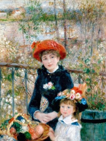 The Two Sisters, On the Terrace, 1881
