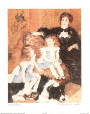 Twin Sisters Jumelles by Pierre-Auguste Renoir