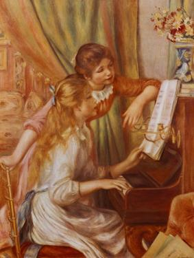 Two Girls at the Piano by Pierre-Auguste Renoir