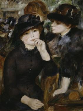 Two Girls in Black, 1880-1882 by Pierre-Auguste Renoir