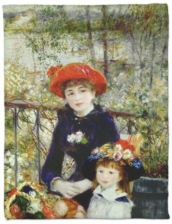 Two Sisters, or on the Terrace, 1881 by Pierre-Auguste Renoir