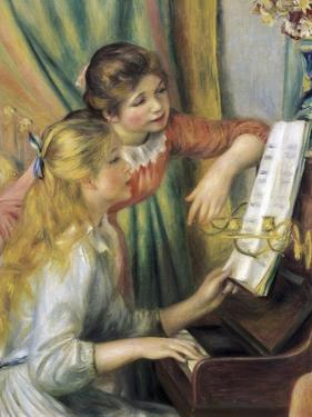 Two Young Girls at the Piano by Pierre-Auguste Renoir
