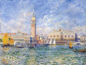 Venice, (The Doge's Palace), 1881 by Pierre-Auguste Renoir