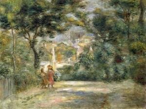 Vue du Sacre Coeur, 1905 by Pierre-Auguste Renoir