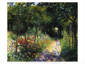Woman in the Garden, 1873 by Pierre-Auguste Renoir