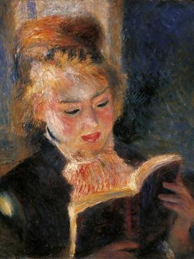 Woman Reading by Pierre-Auguste Renoir