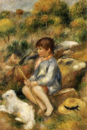 Young Boy by a Brook, 1890