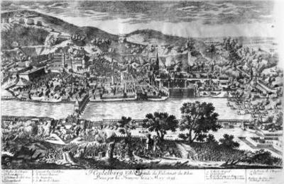 The Taking of Heidelberg on 22th May 1693