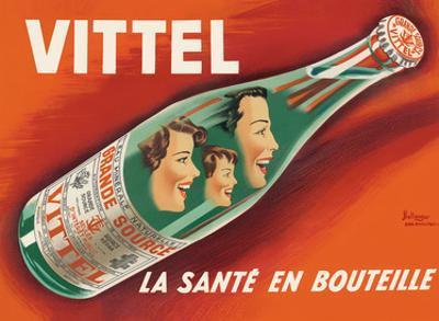 Vittel - La Sante en Bouteille (Bottled Health) - Natural Mineral Water from France by Pierre Bellenger and Emmanuel Gaillard