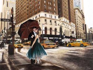Kiss in Park Avenue by Pierre Benson