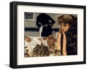 Bonnard: Breakfast, C1899 by Pierre Bonnard