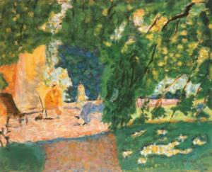 Bosquet by Pierre Bonnard