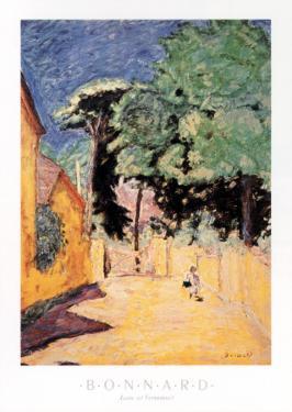 Lane at Vernonnet by Pierre Bonnard