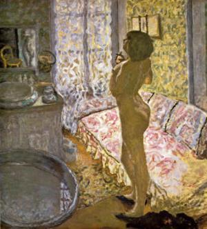 Nude Against the Light by Pierre Bonnard